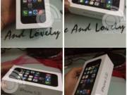 FOR SALE: Brand New Unlocked Apple iphone 5S 32GB  $650