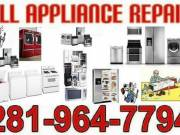 Appliance  Repair  &  Service  ( Houston  Katy Cypress  More  Area )