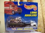 Mattel Hot Wheels Long Haulers with Auto City Tow Truck-new in package