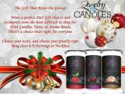 Do you like jewelry, candles and money? Sell Jewelry in Candles. Become a distributor!