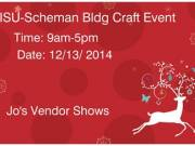 ISU-Scheman Building Craft Event- need 164 Vendors