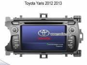 Toyota Yaris 2012 2013 OEM stereo radio Car DVD Player GPS TV IPOD NAV-T7446
