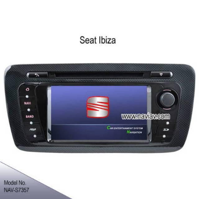 seat ibiza oem stereo car dvd player gps navigation tv. Black Bedroom Furniture Sets. Home Design Ideas