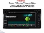 Android 4.2 TOYOTA FJ Cruiser Vits Vela Alpha Sienna Sequoia Tundra Solara radio DVD Player GPS NAV-