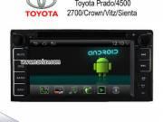 Android 4.2 TOYOTA vios Prado 4500 2700 Rav4 Crown Vitz sienta radio DVD GPS wifi 3g OBD2 Automobile