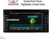 Android 4.2 TOYOTA Rush Previa Highlander Limited Hiace sienta radio Car DVD Player GPS NAV-T7152A