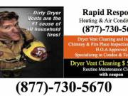 Affordable Dryer Vent Cleaning in Hillsborough, Somerset County, NJ