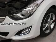 Hyundai Langdong DRL LED Daytime Running Lights turn light steering lamps LED-142HY