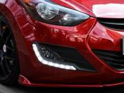 HYUNDAI Elantra DRL LED Daytime Running Lights Car headlight parts Fog lamp cover LED-709HY