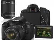 Canon EOS 650D + 18-55 IS II + 55-250mm IS II Kit Digital Camera