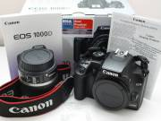 Canon EOS 100D + 18-55 STM + 55-250mm IS II Digital Camera