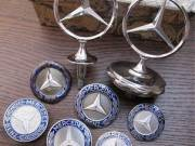 Collection of Mercedes emblems