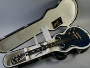 Gibson Longhorn Double Cutaway Electric Guitar Trans Blue------------1500$