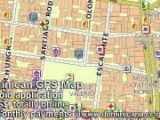GPS Map of Dominican Republic & Haiti. Offline application