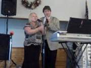 Available: for concerts Gospel sounds duet is available for christian southern gospel music concert