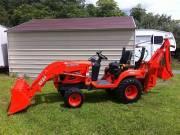 Kubota bx24 tractor 4x4 2oo7