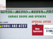 New Operators starting as low as $199.00 + install in Atlanta, GA