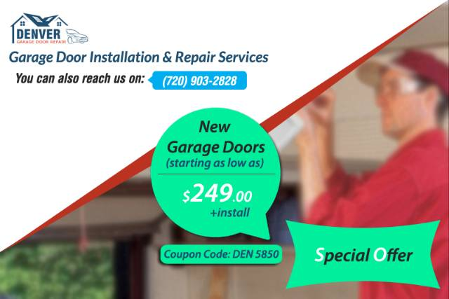 New Garage Doors Starting As Low As 24900 Install In Bailey Area