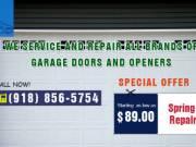 Garage Door Spring Repair Starting as low as $89.00 in Tulsa, OK