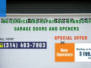 New Operators starting as low as $199.00 + install in St. Louis, MO