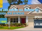 Garage Door Spring Repair Starting as low as $89.00 in New Haven, CT