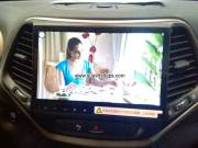 Jeep Cherokee upgrade Car Radio DAB+ Android Wifi 3G APP GPS 10.4inch