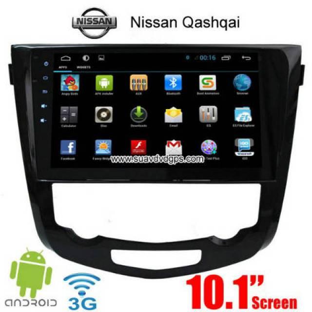 Nissan Qashqai car radio aftermarket android APP wifi gps 3G Apple ...