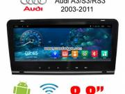 Audi A3 2003-2011 car radio update android wifi 3G GPS Apple CarPlay DAB+