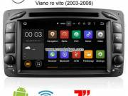 Benz Viano Vaneo Vito M/ML-W163 G-W463 Android Car Radio DVD GPS WIFI