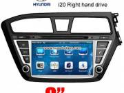 Hyundai i20 RHD right hand drive UK EURO Car Radio camera DVD GPS