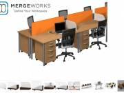 Buy Low Priced Studio Wing Desktop Privacy Panel from Merge Works