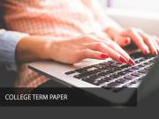 Best College Term Paper by Leading Company
