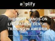 Looking For Local Live Patient Dental Training ? Visit Mr Curt Lawler