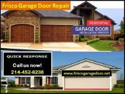 Immediately Response on New Garage Door Installation ($25.95) | Frisco, TX