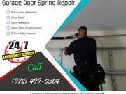 Professional Garage Door Service, Spring & Rolling Gate Repair In Plano Dallas, 75023 TX|$25.95