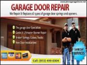 Top Most Garage Door Spring Repair Service in Plano, 75023 ($25.95)| (972) 499-0304|TX
