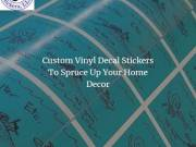 Shop Custom Vinyl Decal Stickers For Home Decor Online