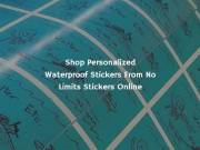 Shop Personalized Waterproof And Heat Resistant Stickers Online