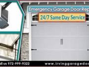24/7 Emergency Garage Door Repair, Spring Repair & Installation $25.95 | Irving Dallas, 75039 TX