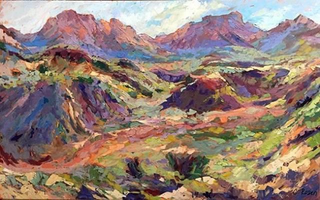 Avail Landscape Paintings From Professional Landscape Painter