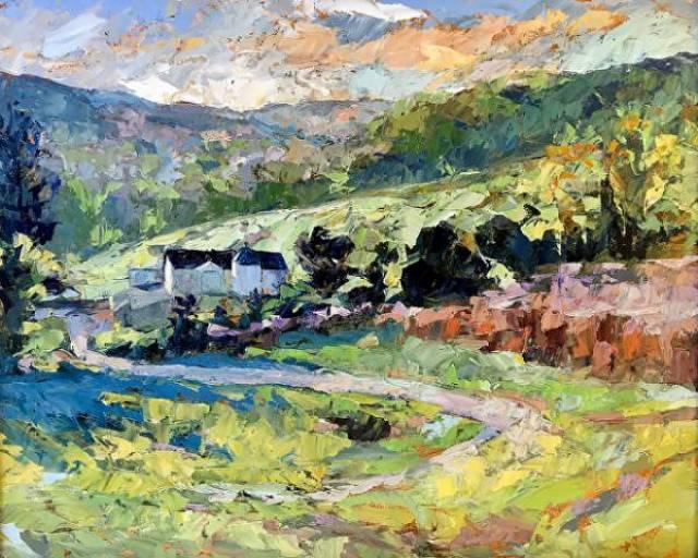 Buy Cynthia Rosen Fine Art Landscape Paintings Online Dorset 57