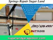 Top Spring and Installation Garage Door Service $25.95 |Sugar Land, 77498 TX