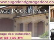 Call (972) 499-0304|New Garage Door Repair $25.95|sugar Land, 77498 TX
