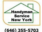 Furniture assembly, TV mounting, 646 355 5703, Manhattan, Bronx, Queens, Brooklyn, Handyman,