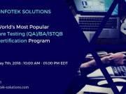 Software Testing, QA/BA, ISTQB Certfication Training Program