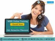 MSBI Online Training |Enroll now for free demo get 30% offer