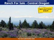 Ranch for sale, 80 acres, Central Oregon