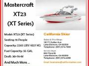 Mastercraft XT23 Superboat of XT Series By California Skier