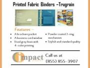 Best Quality Printed Fabric Binders By Impact Binders
