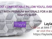 Most Comfortable Pillow By Layla Sleep